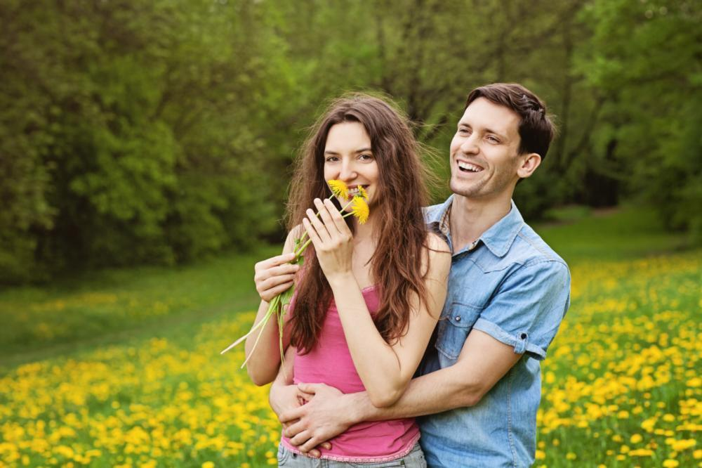 couple smiling | dentist in flowery branch ga