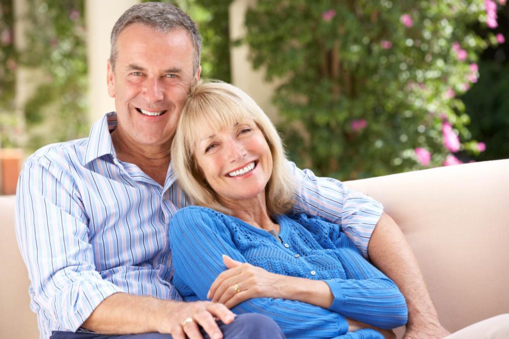 older couple | tooth replacement options flowery branch ga
