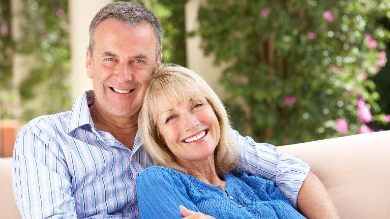 older couple | family dentistry flowery branch ga