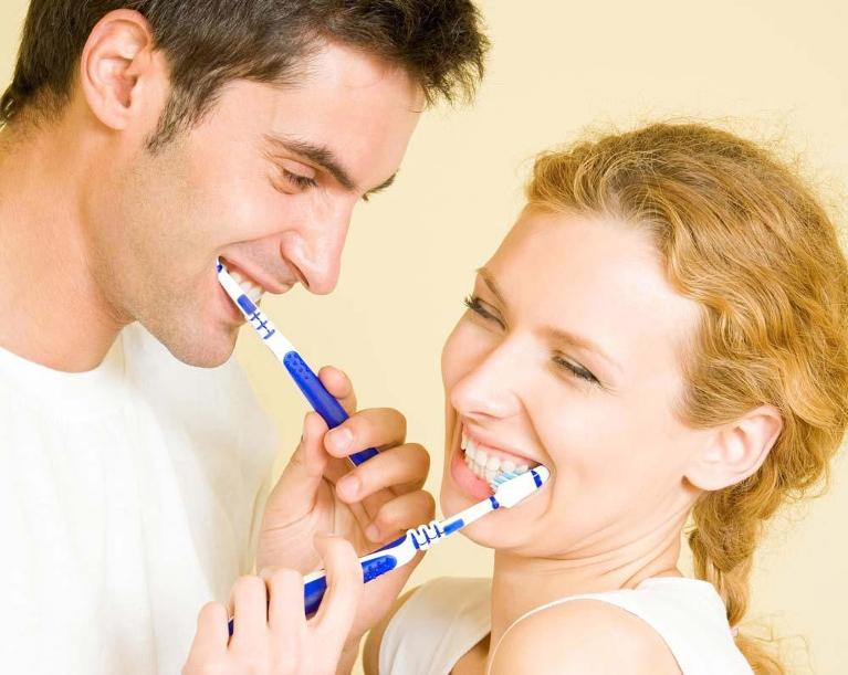 couple smiling | general dentist flowery branch ga